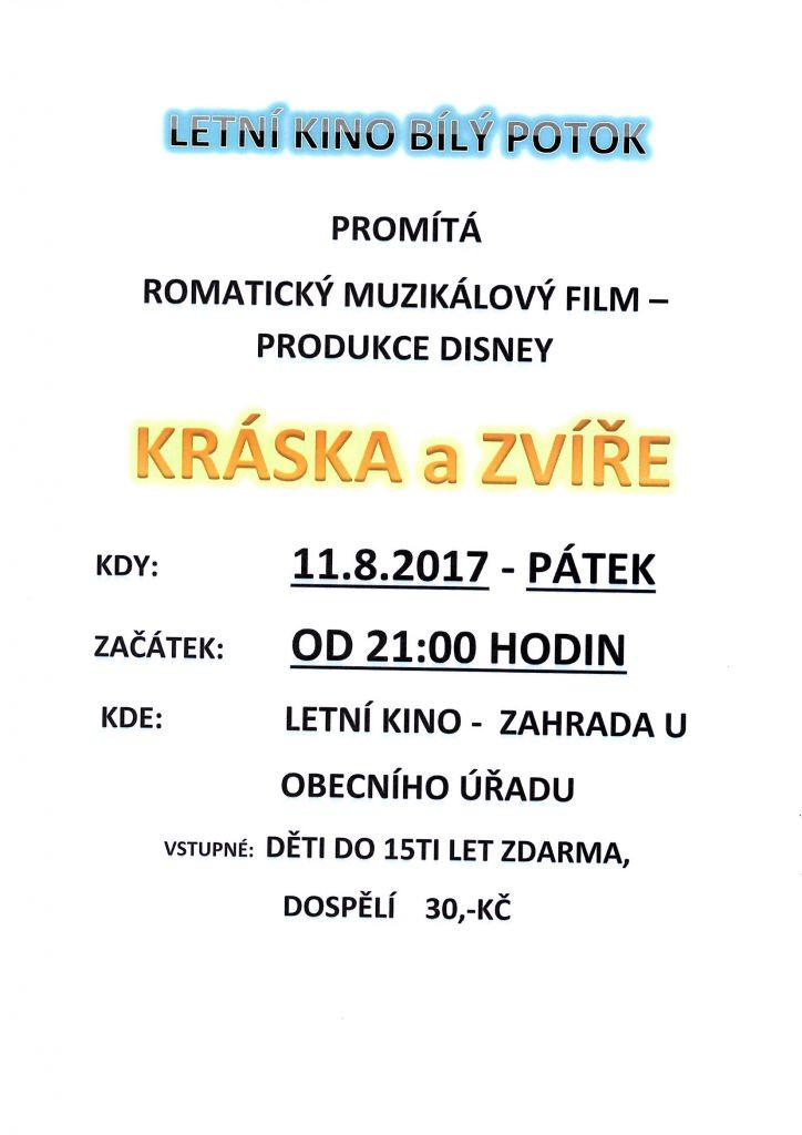 11.8.2017 - romantický muzikálový film
