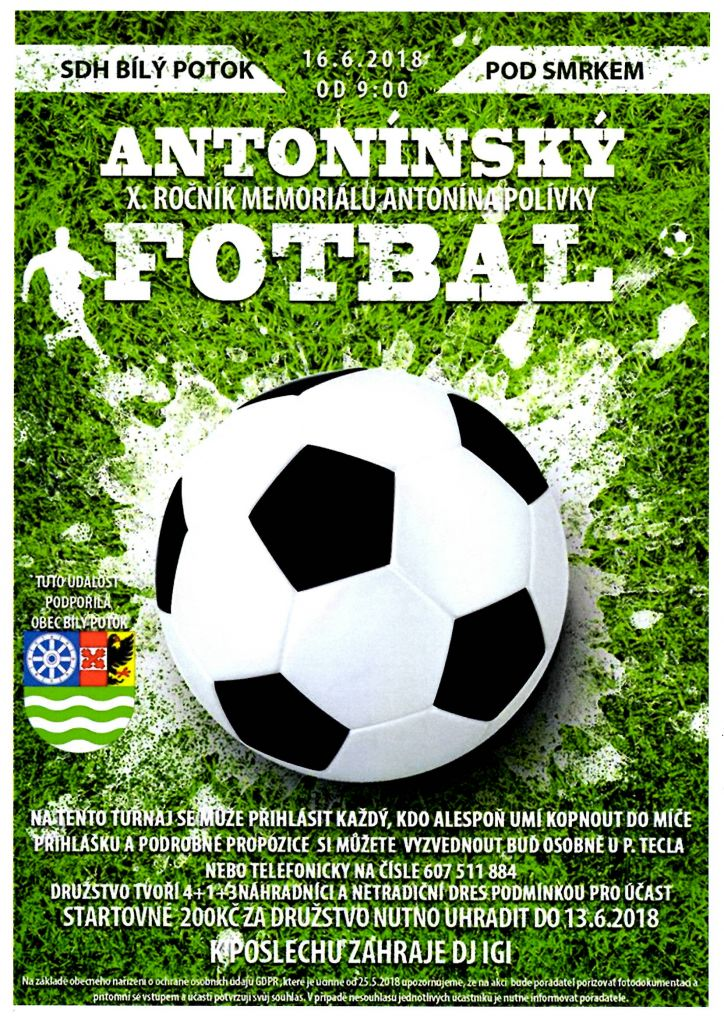 Antonínský fotbal 1